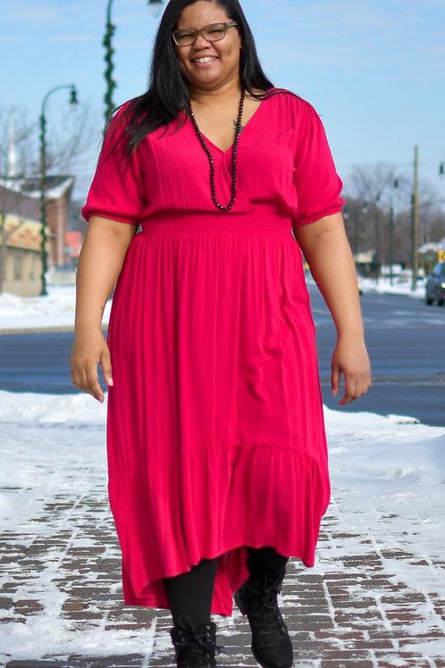 Old Navy Pink Maxi Dress XL