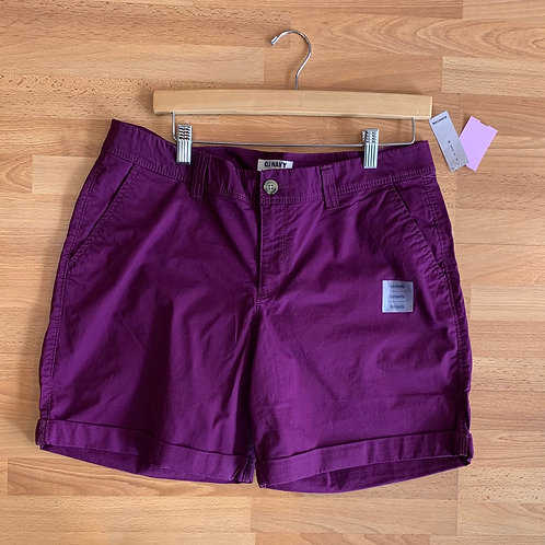 NWT Old Navy Cuffed Shorts Size 12