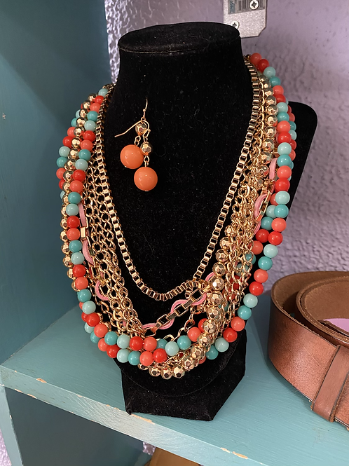New earrings & necklace set