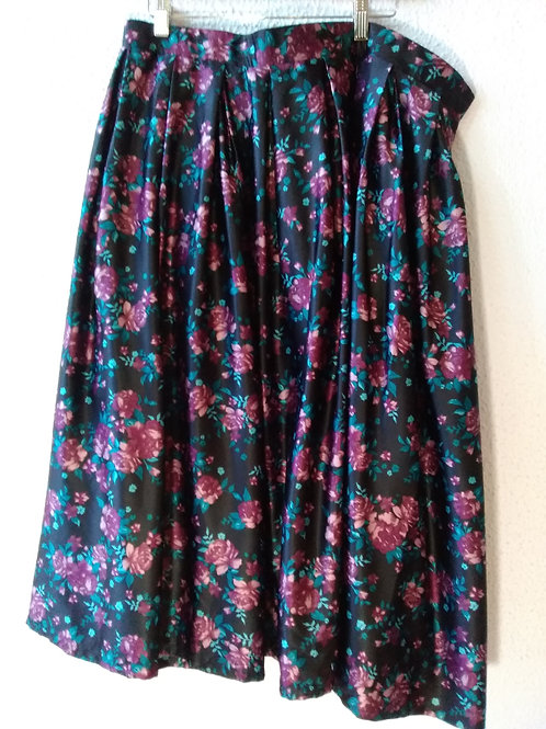 Torrid Floral Pleated Skirt  26