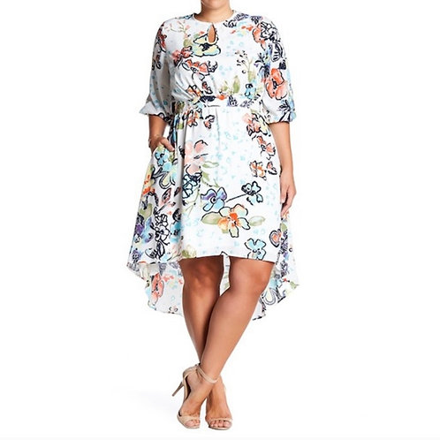 Melissa McCarthy Hi-Lo Dress Sz 3x