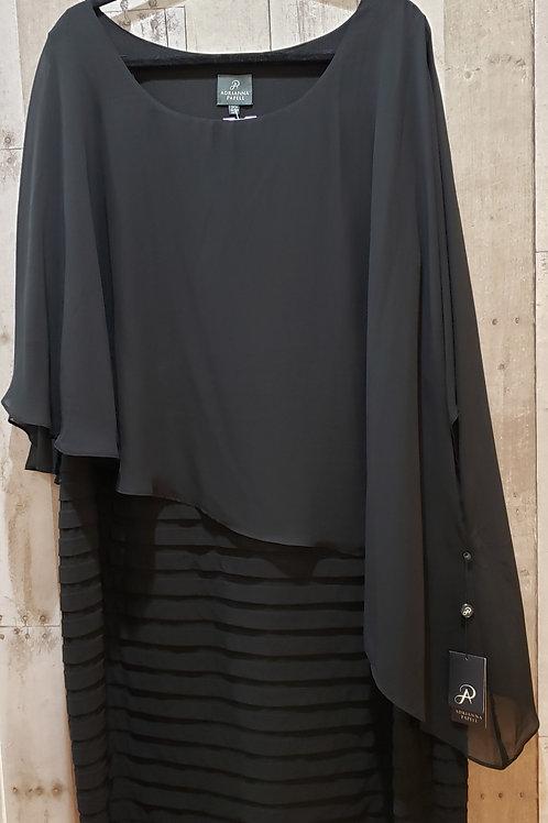NWT Adrianna Papell Chiffon Drape Dress Size 24W