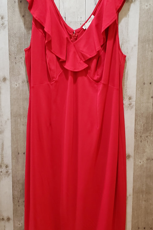 NWT Love Squared Cherry Red Dress Size 2X