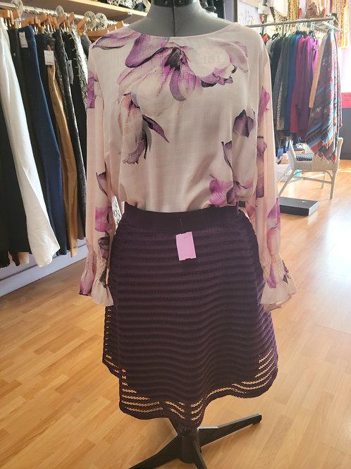 Torrid Double Layer Midi Skirt sz 4