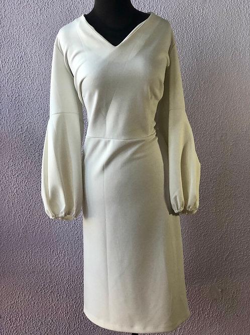 Eloquii White Scuba Dress 24