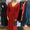 Thumbnail: Eloquii Red Faux Wrap Maxi Dress : sz 16