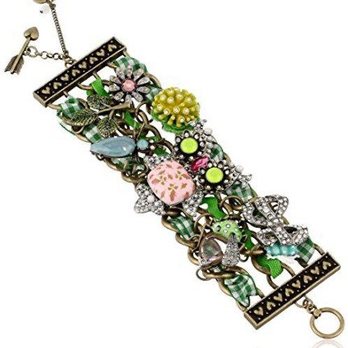 Betsey Johnson Vintage Bugs Toggle Bracelet