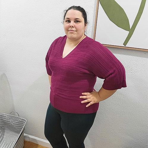 Eloquii V-neck Pullover Sweater sz 18/20