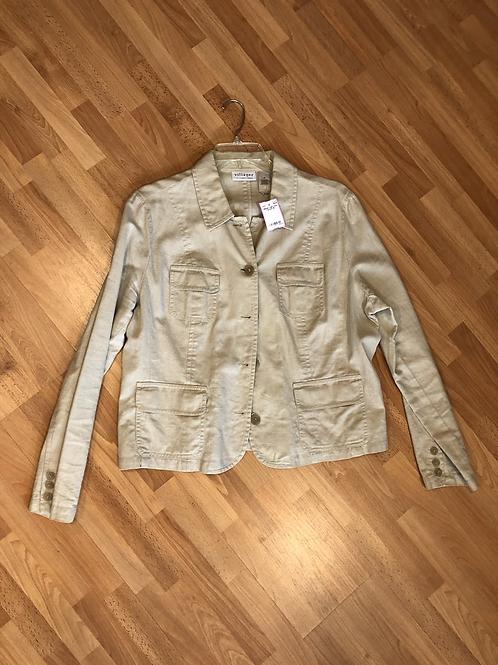 Villager Linen Jacket Sz 18