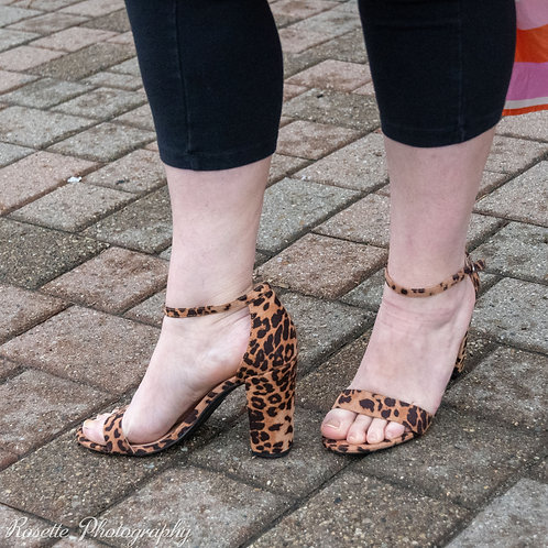 NWT A New Day Animal Print Heels Size 10