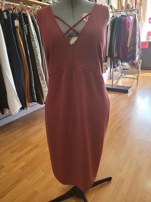 *NWT* Charlotte Russe mid-calf dress sz 3x