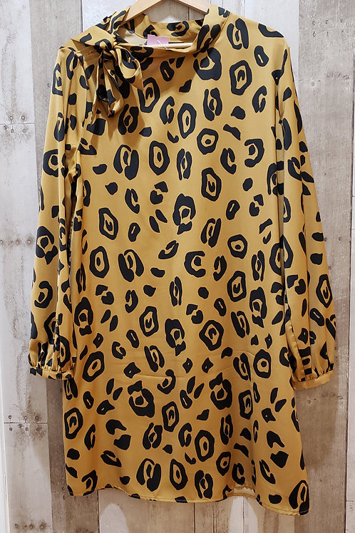 Who What Wear Animal Print Dress Size Large
