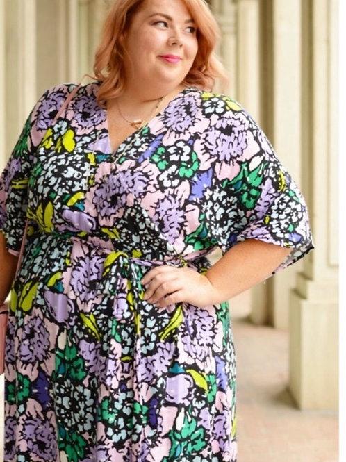 Melissa McCarthy Wrap Dress Sz 3x
