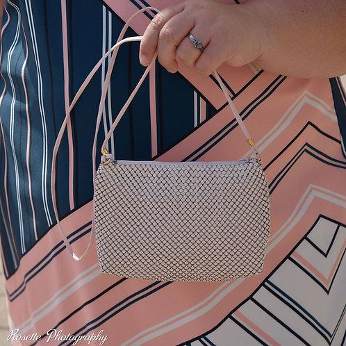Vintage Whiting and Davis chain mesh bag
