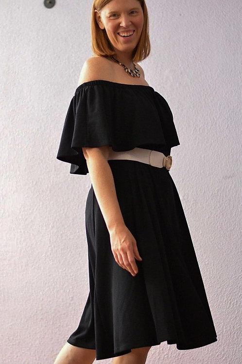 Isaac Mizrahi Live Black Dress-  sz L