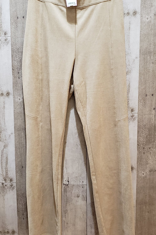 Zenergy by Chico's Faux Suede Pants Size 16 (3)