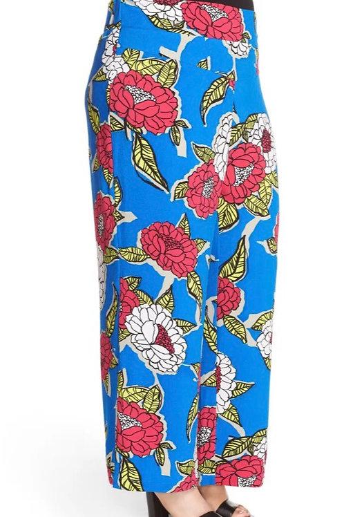 Melissa McCarthy wide leg floral pants size 24w
