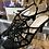 Thumbnail: Unique vintage spiderweb heels size 9