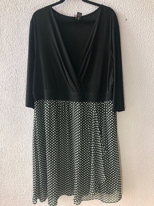 Lane Bryant Faux Wrap Dress 26