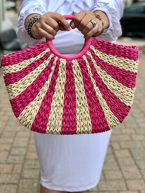 Talbots Straw Bag NWT