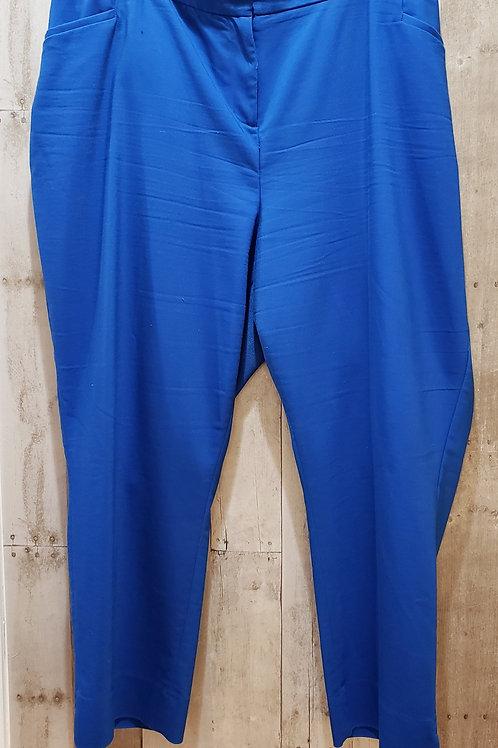NWT Lane Bryant Blue Pants Size 28
