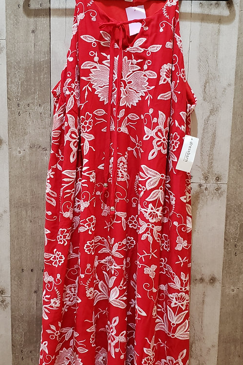 NWT Westport Embroidered Floral Dress Size 1X