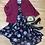 Thumbnail: Torrid cold shoulder maxi dress size 2