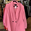 Thumbnail: Eloquii Double Breasted Pink Suit : Sz 18