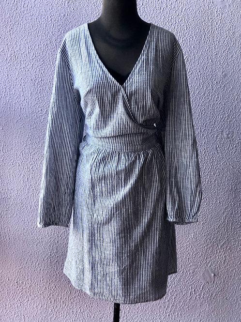 NWT Old Navy Long Sleeve Wrap Dress XXL