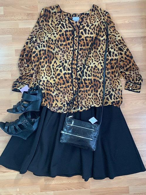 Torrid Sz 2 Stretchy Black Dress