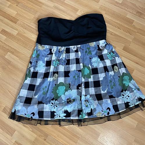 Torrid strapless dress size 26