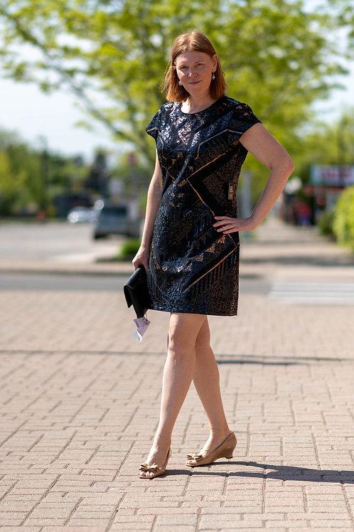 NWT Express Sequin Dress Size XL