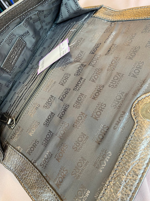 Michael kors leather clutch
