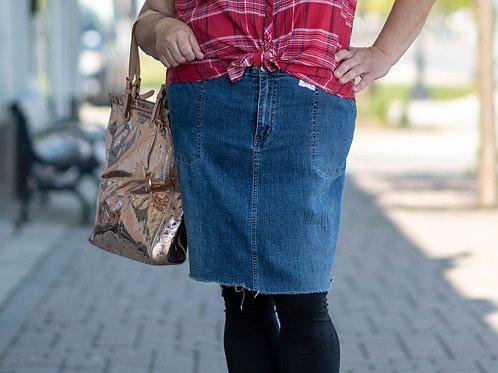 Venezia Denim Skirt Size 20
