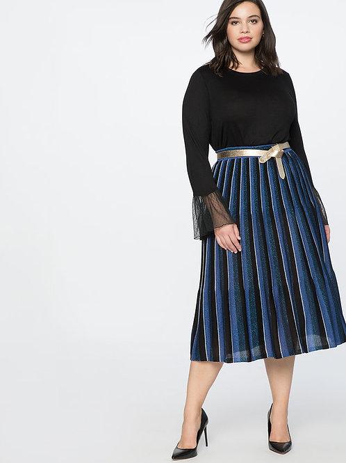Eloquii Pleated Sweater Skirt sz 14/16