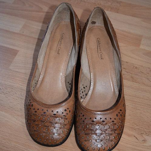 Coldwater Creek Cutout Shoes  Size 10M