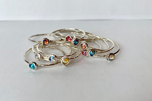 .925 Sterling Silver Stacking Rings (priced per ring)