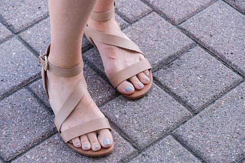 Franco Sarto Strappy Sandals (NEW) sz 9.5