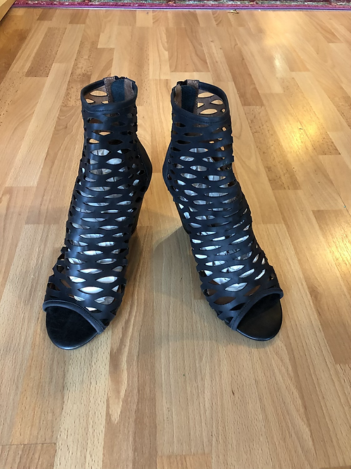 Crown Vintage Strappy Ankle Booties