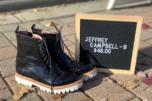 Jeffrey Campbell Lace up Combat Boots