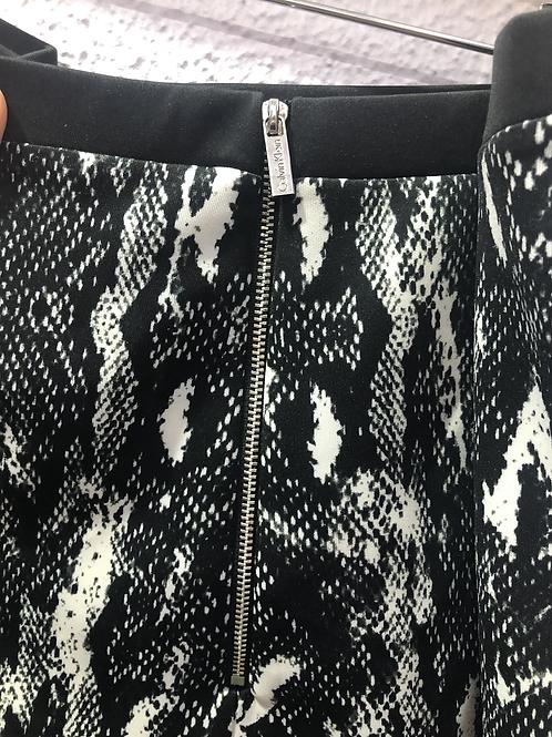 Calvin Klein Snakeskin Skirt 3X
