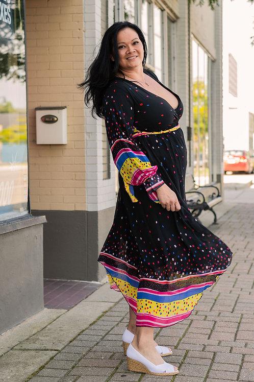 Chao Meng Maxi Dress sz XL