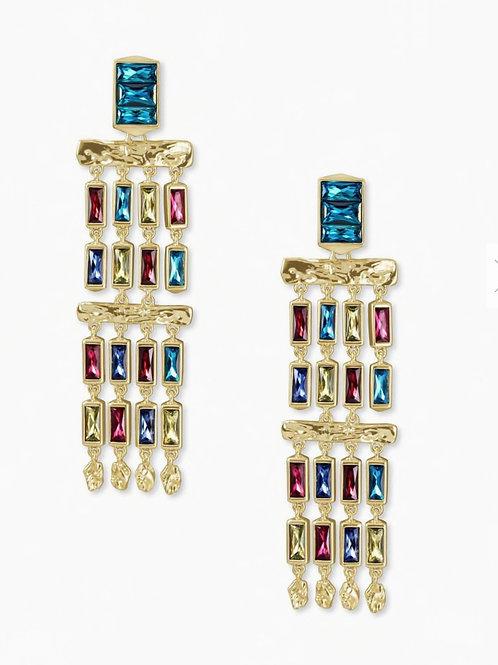 Kendra Scott Multi Crystal Earrings