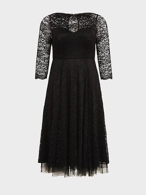 Lace Midi Dress, Torrid Sz 26
