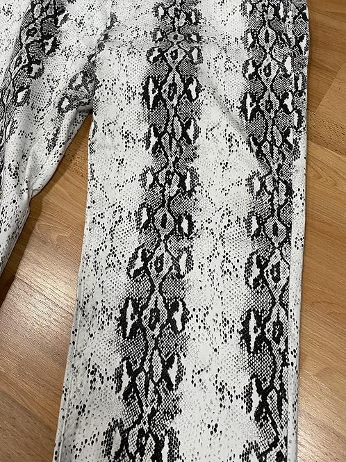 Snakeskin pattern jeans 2x