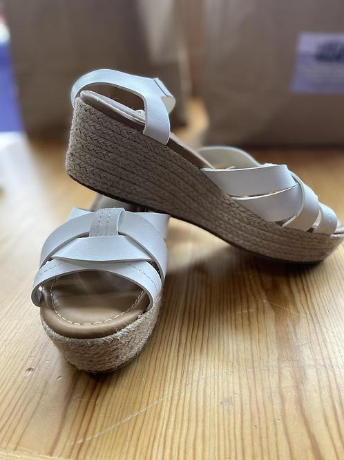 New lane Bryant wedge sandals 10W