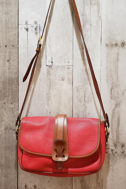 Dooney & Bourke Vintage Pebble Leather Crossbody Purse