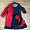 Thumbnail: Anne Klein red trench coat XL