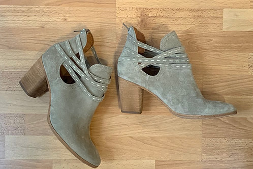 Frye Leather Booties Size 9 1/2