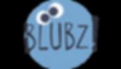 Blubz brand button